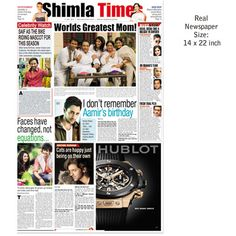 Custom Newspaper Personalised Prints Archive Times Of India News Gift In