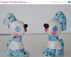 ON SALE Vintage  Relco Japan Dog Salt and Pepper by JudysJunktion, $15.30
