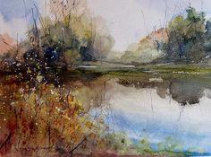 River Dance by Sandra Strohschein