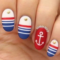 oval-nail - 50 Oval Nail Art Ideas