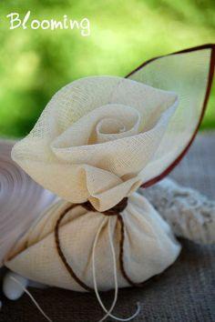 My Wedding Tips: Μπομπονιέρα γάμου πουγκί
