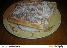 Opravdu křupavé vafle recept - TopRecepty.cz French Toast, Pancakes, Pie, Bread, Dishes, Breakfast, Sweet, Desserts, Recipes