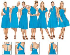 @Rebecca Cole  there are like tons of different ways to wear an infinity dress?