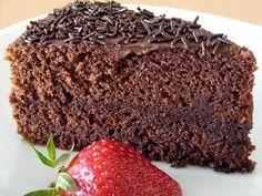 Bolo Chifon de Chocolate – Receita
