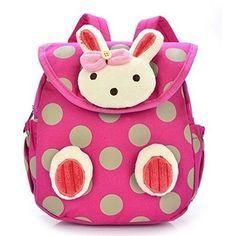 Cute Rabbit Bear Dot Toddler Baby Backpack Softback Mini School Bag Children Gifts Kindergarten Mochila For Kids Year Old Baby School Bags, Cheap School Bags, School Bags For Kids, Kids Bags, Little Babies, Cute Babies, Baby Kids, Baby Harness, Kindergarten Gifts