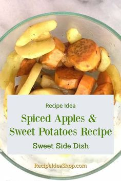 Spiced Apples and Sweet Potatoes Easy to Grill | Recipe Idea Shop