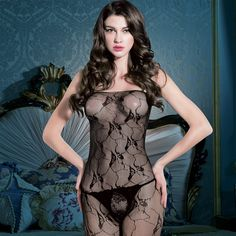 Bodystocking sex fishnet lingerie