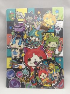 YOKAI WATCH (TYPE A)  Plastic sheet Pencil Board Made in Japan  F/S NEW
