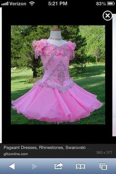 Beautiful Glitz Pageant Dress!