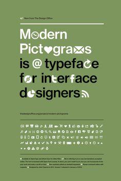 John Caserta / Modern Pictograms