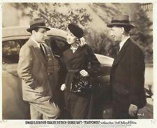 """MARLENE DIETRICH & GEORGE RAFT in """"Man Power"""" Original Vintage Photograph 1941"""