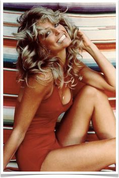 {great love story № 16 | farrah fawcett & ryan o'neal} by {this is glamorous}, via Flickr