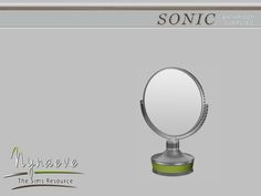 Sonic Bathroom Supplies - Makeup Mirror  Found in TSR Category 'Sims 4 Clutter'