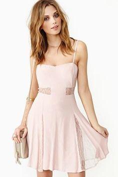 Sweet Surrender Dress in Blush