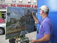 The Joy of Painting, Bronx Style? Beloved Artist, Daniel Hauben Gets His Own Show