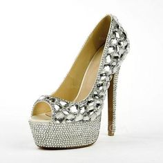 Pumps - $128.99 - Patent Leather Stiletto Heel Sandals Platform Peep Toe With Rhinestone shoes (085026643) http://jjshouse.com/Patent-Leather-Stiletto-Heel-Sandals-Platform-Peep-Toe-With-Rhinestone-Shoes-085026643-g26643