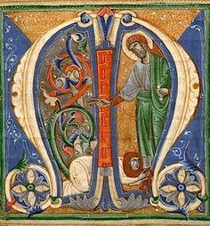 Mary Magdalene drying Christ's feet Origin Veneto or Umbria, c. 1280-1300 tempera on vellum Also http://www.usccb.org/bible/revelation/18