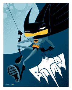 kid batman by strongstuff.deviantart.com