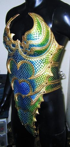 Female Dragon Armored Corset 2 by Prince This part of the armor is now…