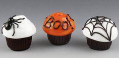 Easy Halloween Cupcakes 2014