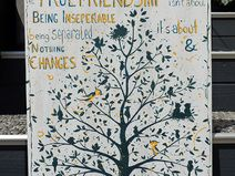 "Acrylmalerei ""True Friendship"""