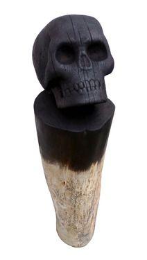 "Saatchi Online Artist Fernando Arroyave; Sculpture, ""Skull"" #art"