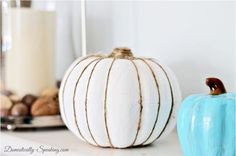Dollar Store Pumpkin Crafts for Fall - 9 inspiring DIY projects