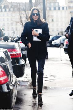 Paris_Fashion_Week_Fall_14-Street_Style-PFW-Capuccine-Black-Carven- by collagevintageblog, via Flickr