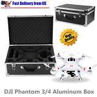 DJI Phantom 3 Professional/Advanced/Standard RTF RC Drone Hard Box Carrying Case