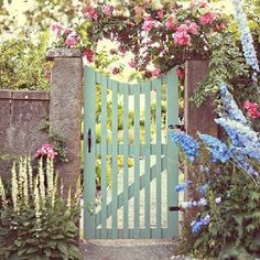 This shape of gate, similar to the wrought iron gates on the driveway.
