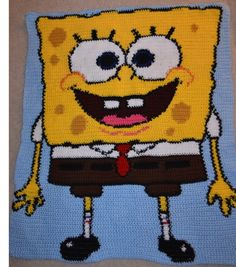 spongebob squarepants graphghan
