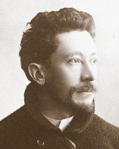 Émile Gallé (1846 - 1904), French artist, 1889 One of the founders of the Art Nouveau movement known as École de Nancy. (together with Victor Prouvé, Louis Majorelle, Antonin Daum and Eugène Vallin)