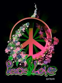 Peace Sign Art Jayne Reynolds ☮️