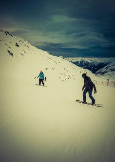 Robert Emmerich - 92 Johannes and Adrian on the Snowboard- Möllertalgletscher Kärnten - Austria by Robert Emmerich on 500px
