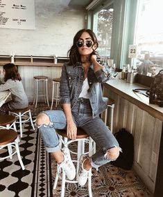 20 Edgy Fall Street Style 2018 Outfits To Copy, Winter Outfits, Casual Fall Fashion Trends & Outfits 2018 Autumn Fashion Casual, Fall Fashion Trends, Trendy Fashion, Casual Fall, Womens Fashion, Fashion Ideas, Casual Summer, High Fashion, Fashion Fashion