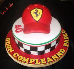 Ferrari Cake By Tortedinadia Cakesdecorcom Decorating more at Recipins.com
