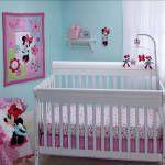 MINNIE MOUSE Simply Adorable 4-Piece Crib Bedding Set