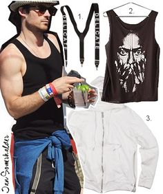 Fashion: Celebrity Style By Ian Somerhalder Get that Look