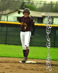 New Boston Lady Lion, #7 Kayleigh Davis is a sophomore and plays second base.