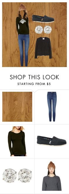 """Autumn weather"" by cassidy-girard ❤ liked on Polyvore featuring Frame Denim, A.N.A, Roots, TOMS, Meteo by Yves Salomon, IRO, casual, LazyDay, autumn and coldweather"