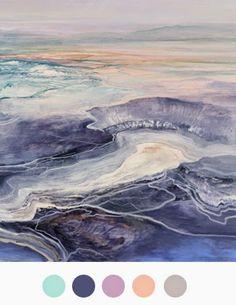 Watercolor ocean - color collective