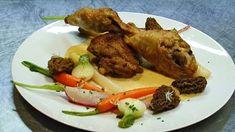 Huhn mit Dijonsenf   Geflügel