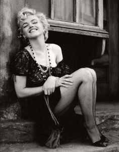 1956: Marilyn Monroe by Milton Greene