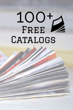 of Free Catalogs You Can Request To Be Delivered To Your Door!List of Free Catalogs You Can Request To Be Delivered To Your Door! Stuff For Free, Free Stuff By Mail, Free Mail, Free Magazine Subscriptions, Couponing For Beginners, Couponing 101, Catalog Shopping, Shopping Catalogues, Shopping Hacks