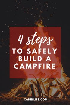 Whether you're a hardened survivalist, an experienced camper, or just enjoy spending time outdoors, anyone can appreciate the benefits of a well-constructed campfire. This guide will teach you the safest ways to make the most out of your campfire. Cabin Activities, Camper, Outdoors, Teaching, Building, How To Make, Truck Camper, Outdoor, Travel Trailers