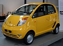 The lower-cost Tata Nano (Photograph courtesy:Wikipedia) Ratan Tata, chairman emeritus of 1 of India's largest conglomerates, Tata, has spoken out. The Tata Cars, Falken Tires, Car Facts, Best New Cars, Tata Motors, Automotive Engineering, Used Tires, Smart Car, Cheap Cars