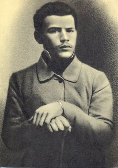 Leo Tolstoy. 1851. He was 23 years old. #Leo_Tolstoy