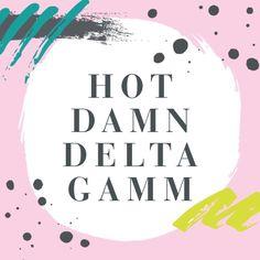 Pinterest: @m4ddymarie Sorority Socials, Sorority Rush, Sorority Paddles, Sorority Crafts, Sorority Recruitment, Sorority Life, Delta Gamma Canvas, Delta Gamma Crafts, Sorority Canvas