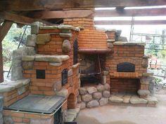 Old Garden Fireplace
