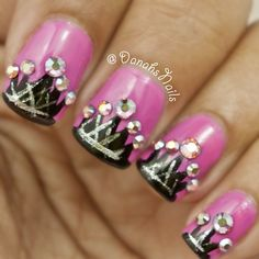Mani to honor every girl and woman on their international women's day..WE RULE ! - @ danahsnails